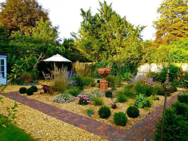 Creating a gravel garden: planting