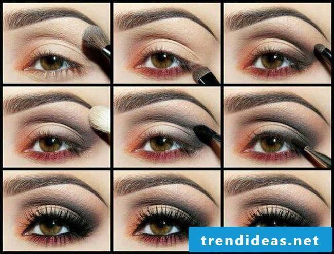 Smokey Eyes make-up instructions