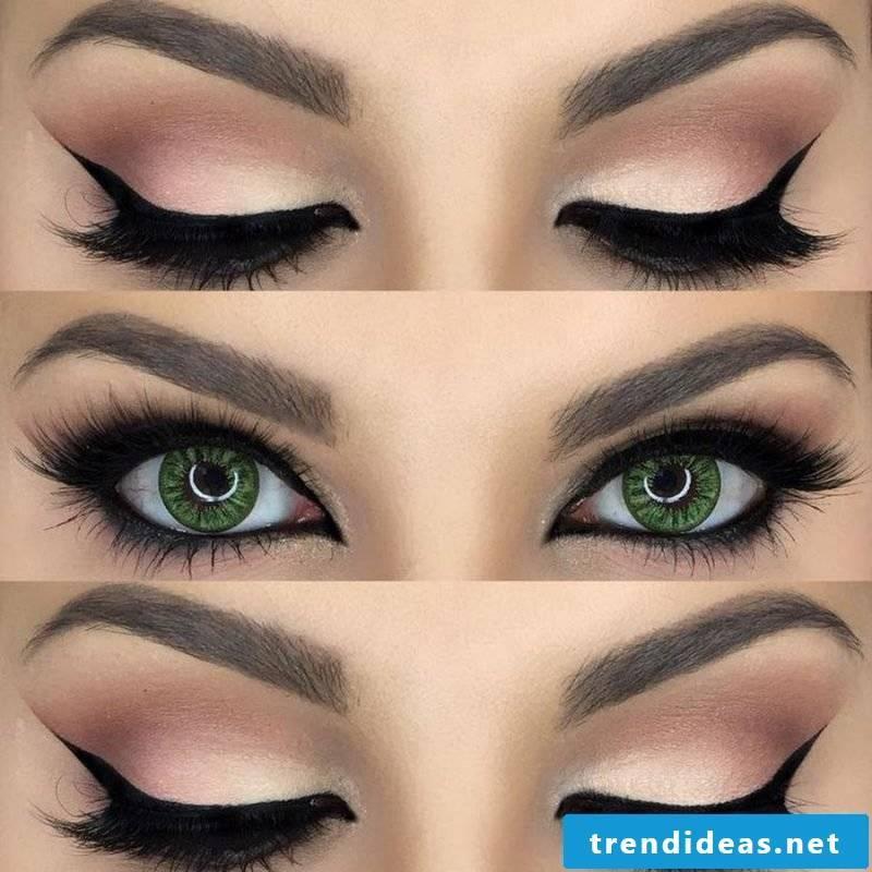 Bright Smokey Eyes