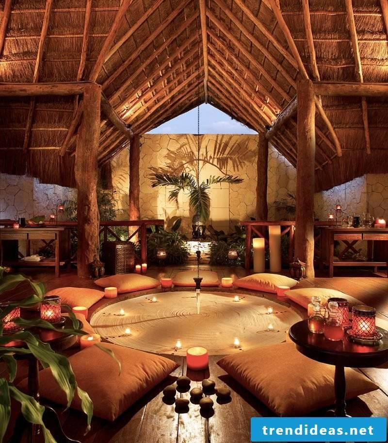 Set up meditation room