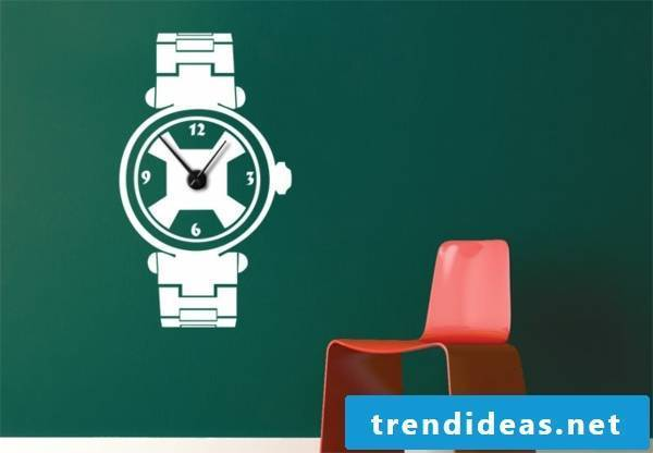 Interesting and nice white wall clock