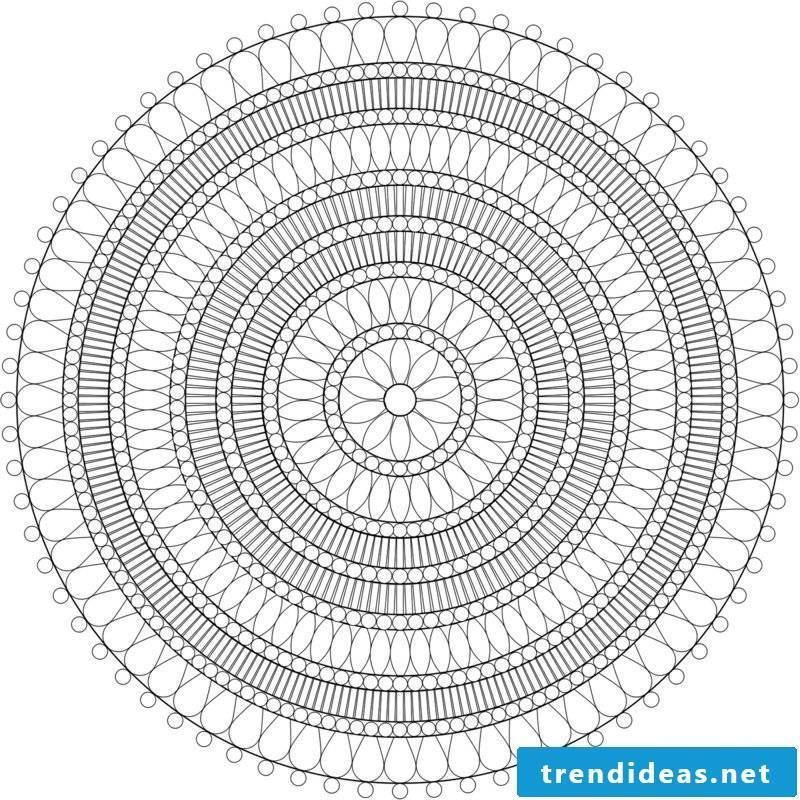 Mandala templates symbolism