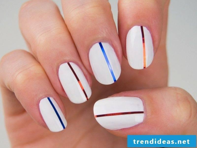 Fingernails design trim