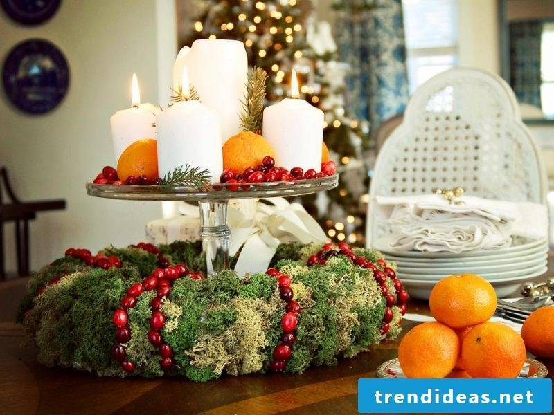 Advent wreath order for the table