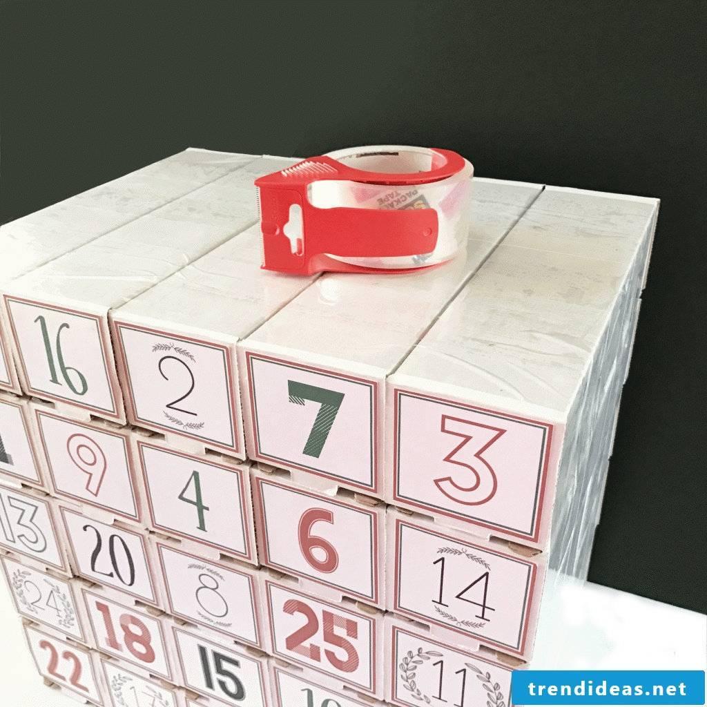 Advent Calendar Ideas - Make advent calendar for men