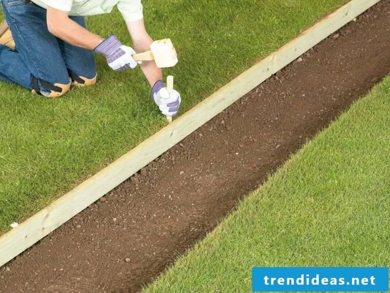 Creating a gravel garden - instructions step 2