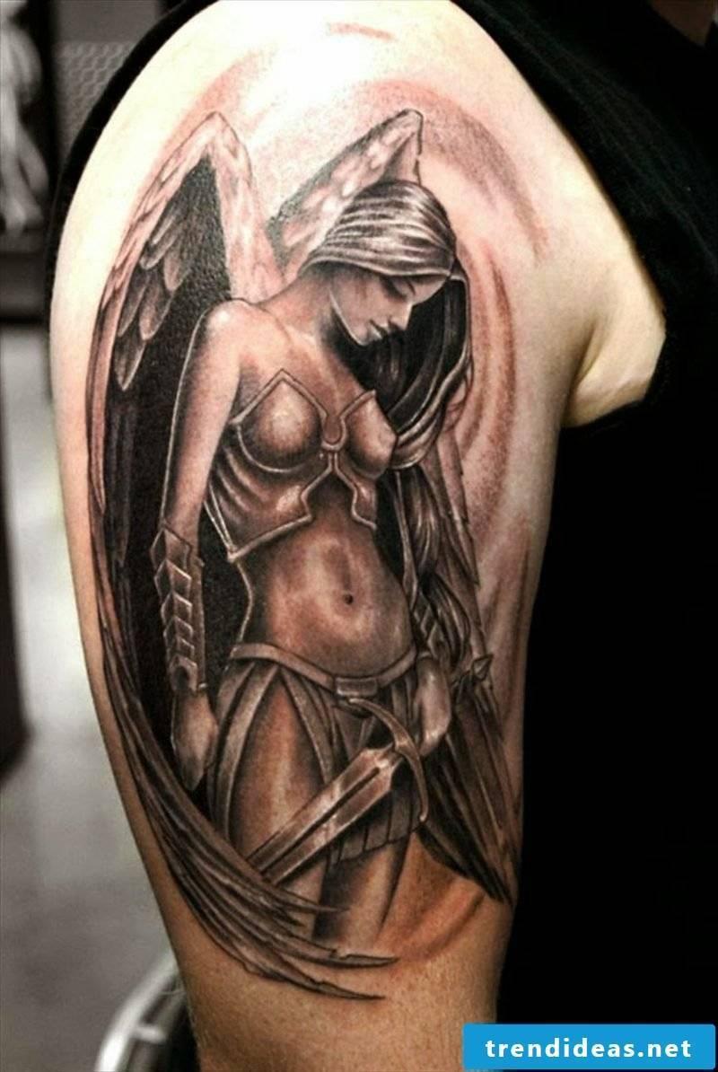 Angel Tattoo Angel