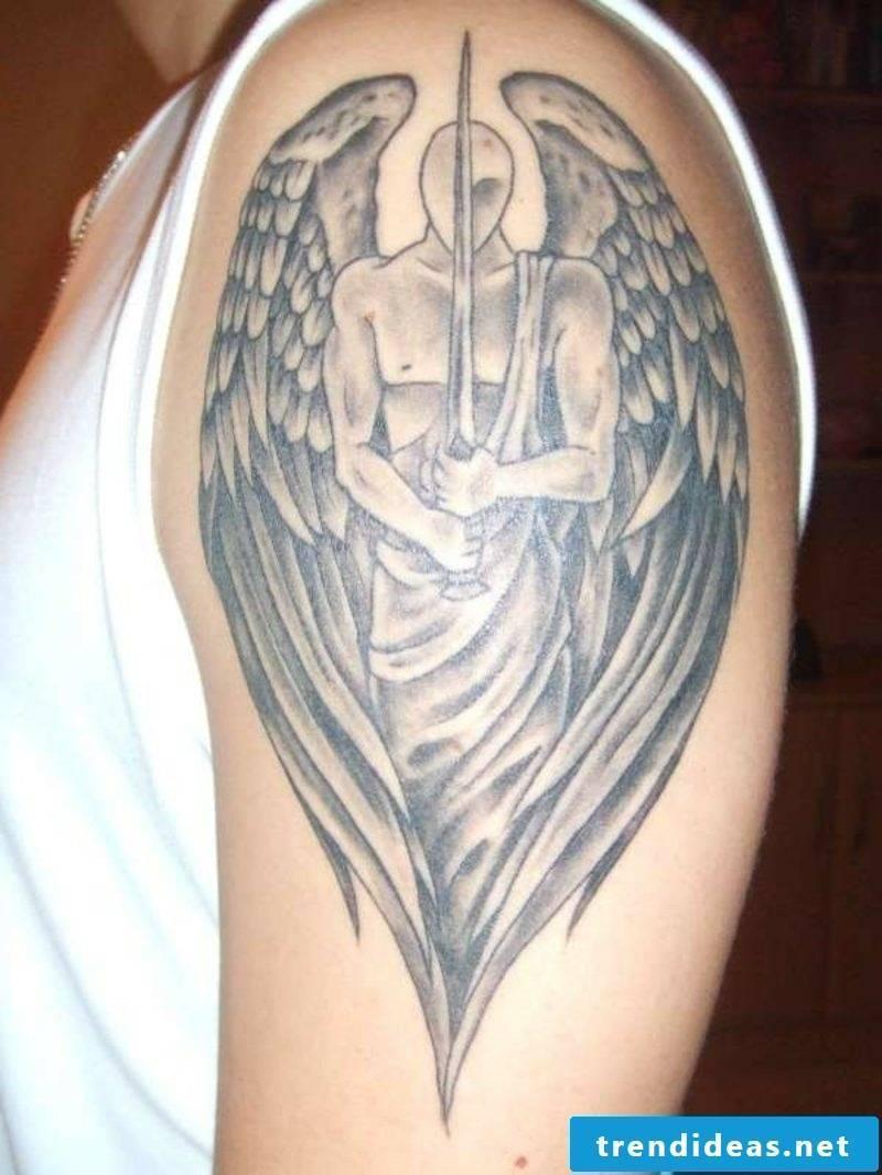 angel tattoo arm angel tattoo