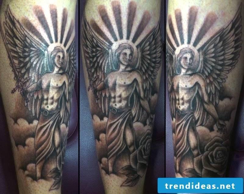 angel tattoo male angel tattoo
