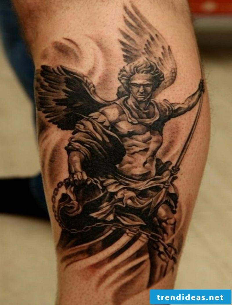 angel tattoo simple angel tattoo
