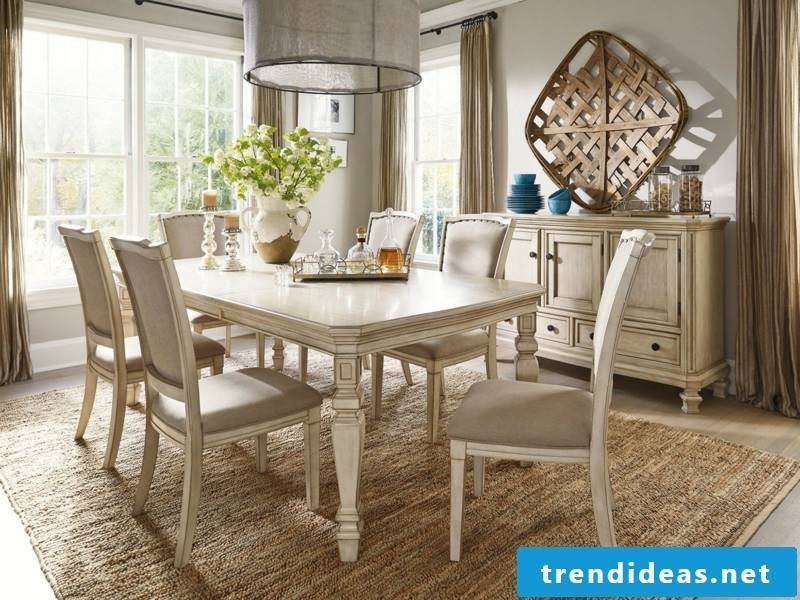 bright dining room after vintage facilities