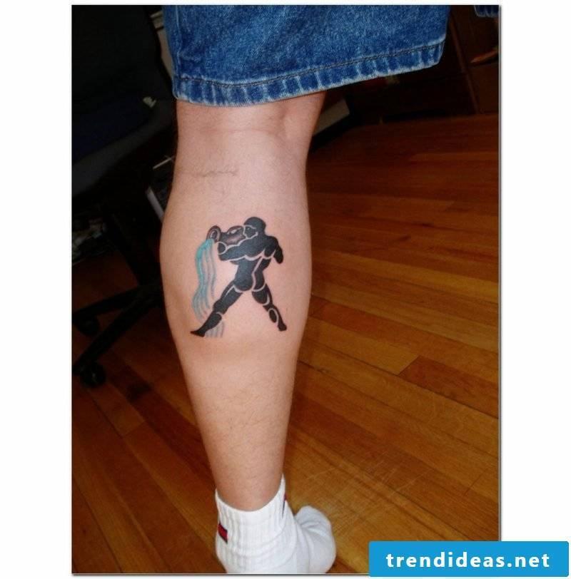 Aquarius Tattoo Aquarius