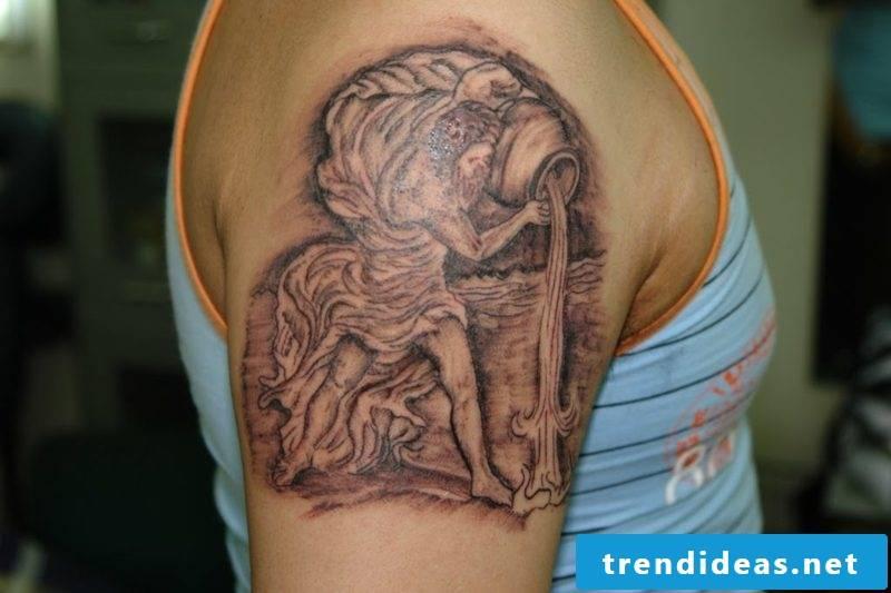 Aquarius Tattoo Cool Aquarius Tattoo