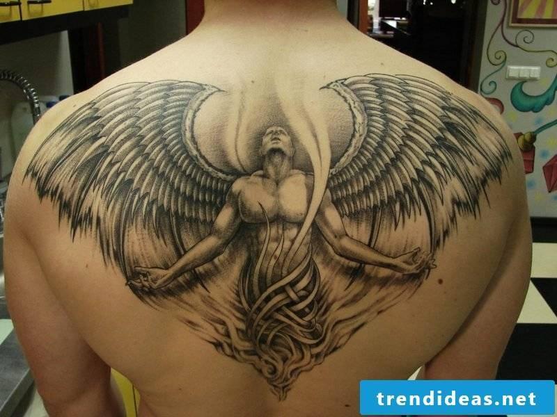 aries tattoo aries back