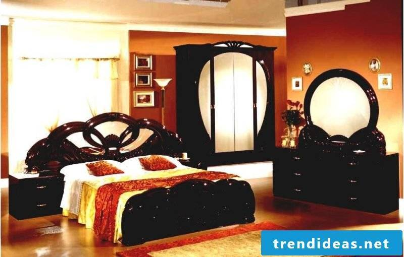 Asian furniture: bedroom