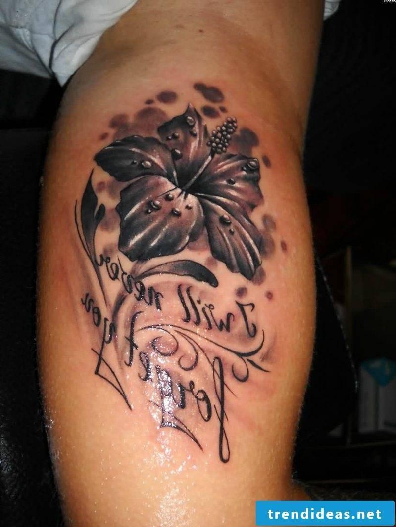 interesting tattoos lily