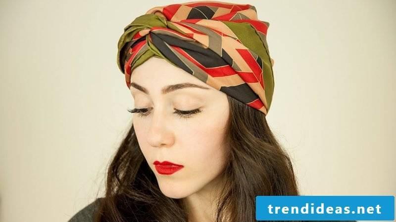 Headscarf tie DIY ideas pirate headscarf