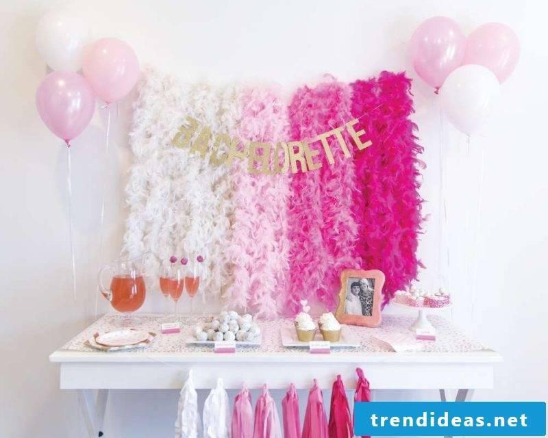 Bachelorette party decoration