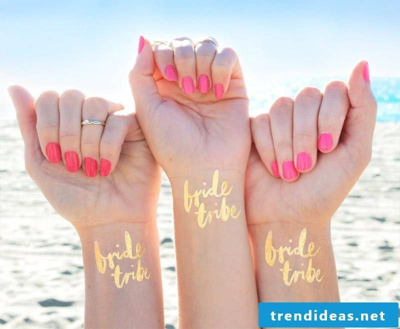 Doing DIY tattoos yourself is the trend for Bachelorette 2017
