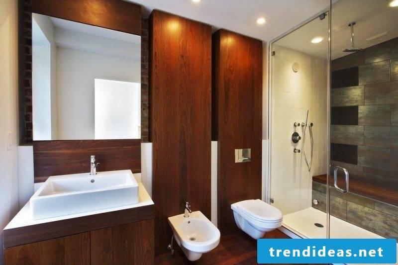 bathroom wall paneling wood panels