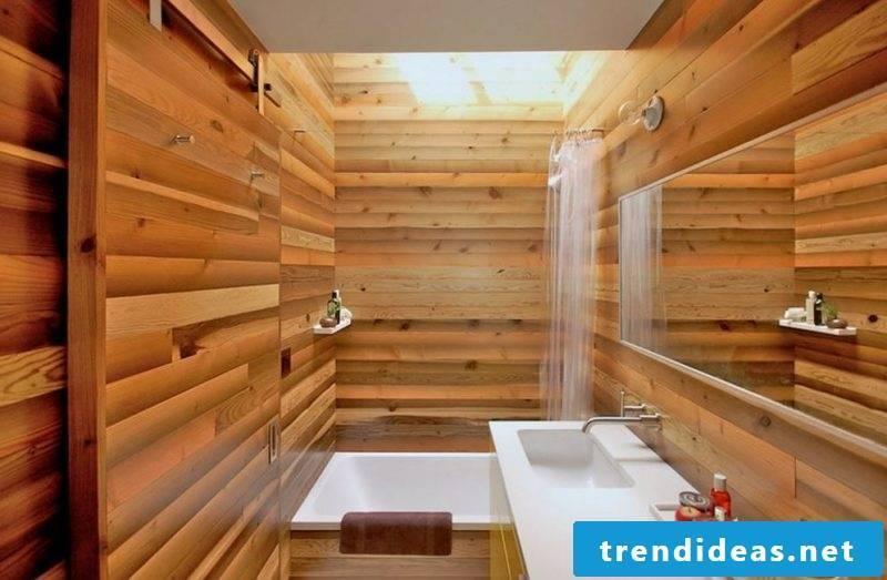 bathroom wallcovering cozy
