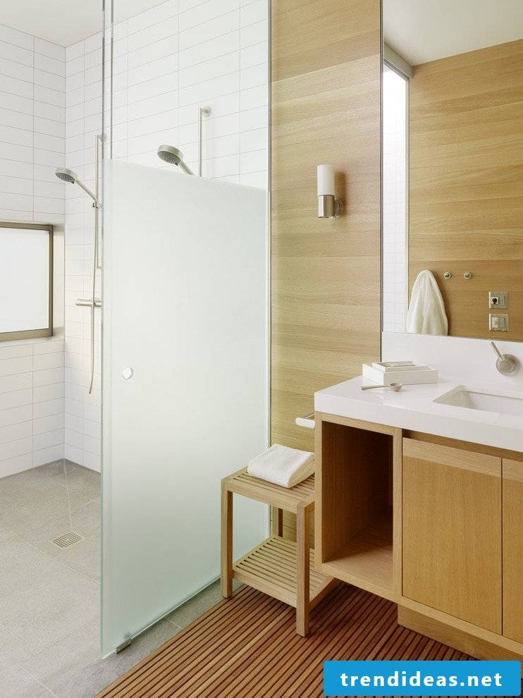 bathroom wall cladding modern