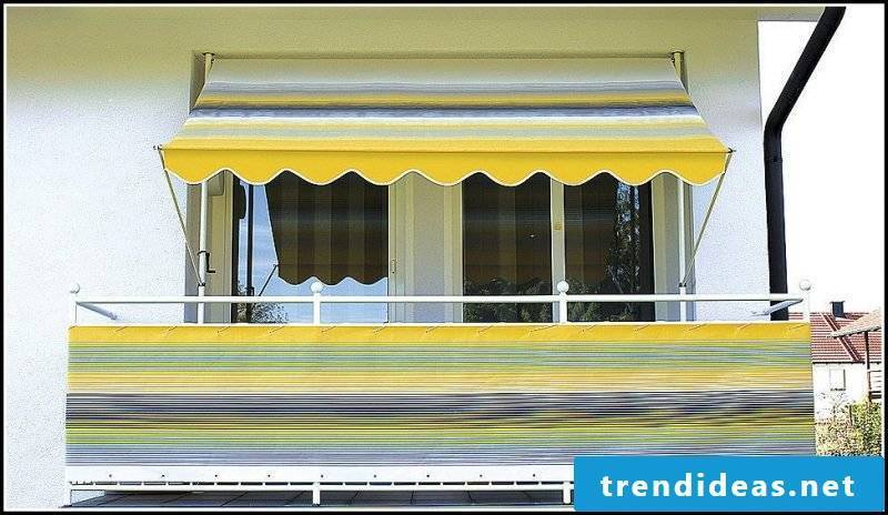 Balcony Awnings As Climate And Privateness Screens 45 Concepts
