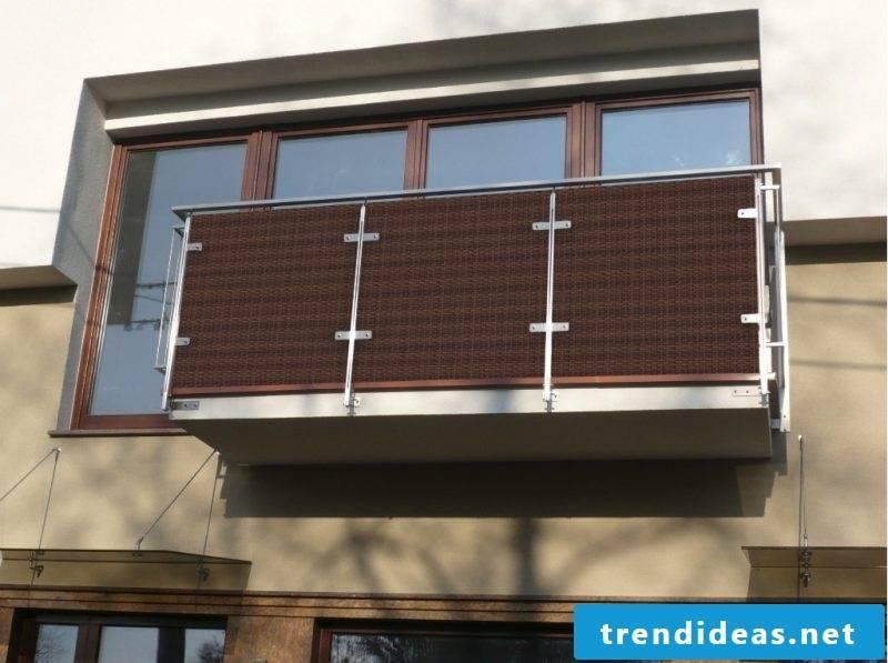 balcony cladding wood