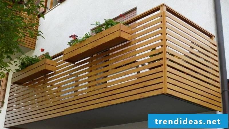 balcony cladding gently