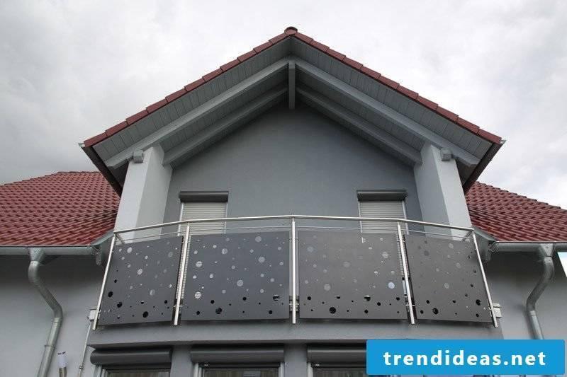 balcony cladding interesting