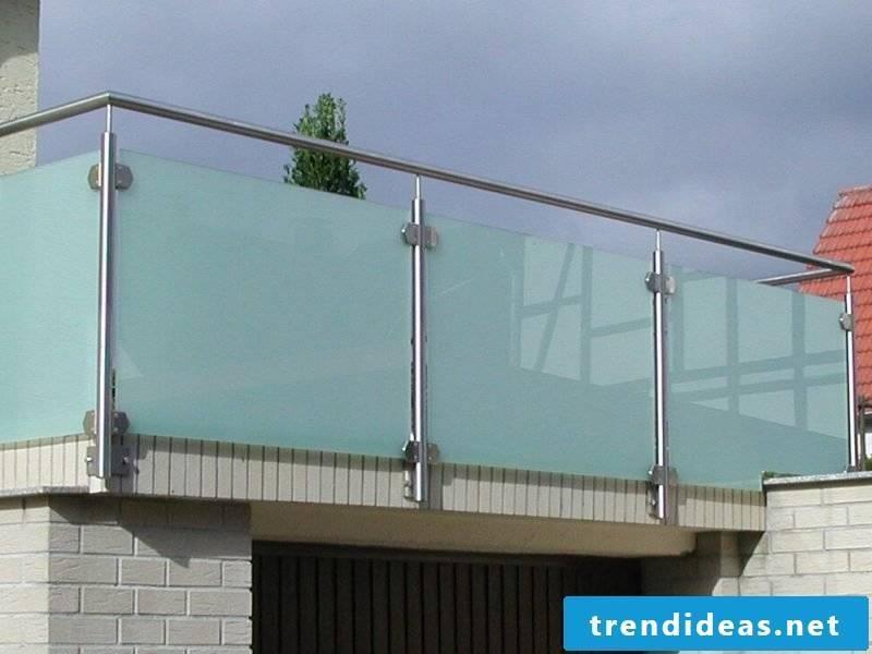 balcony cladding glass