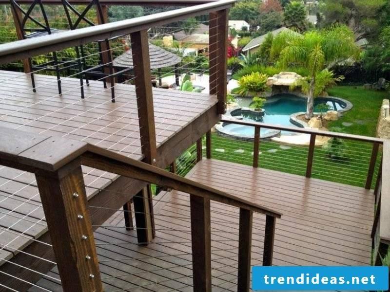 balcony railing useful