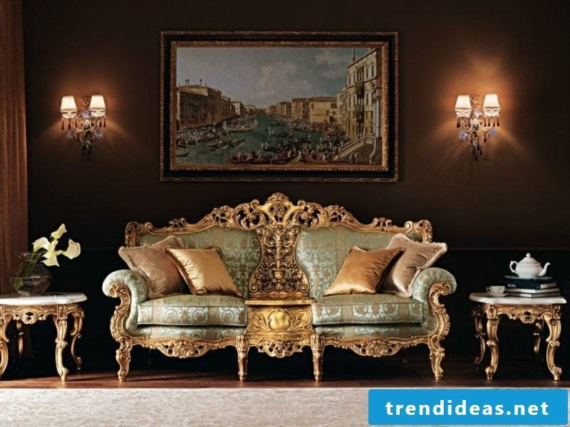 Interior of a Baroque style living room