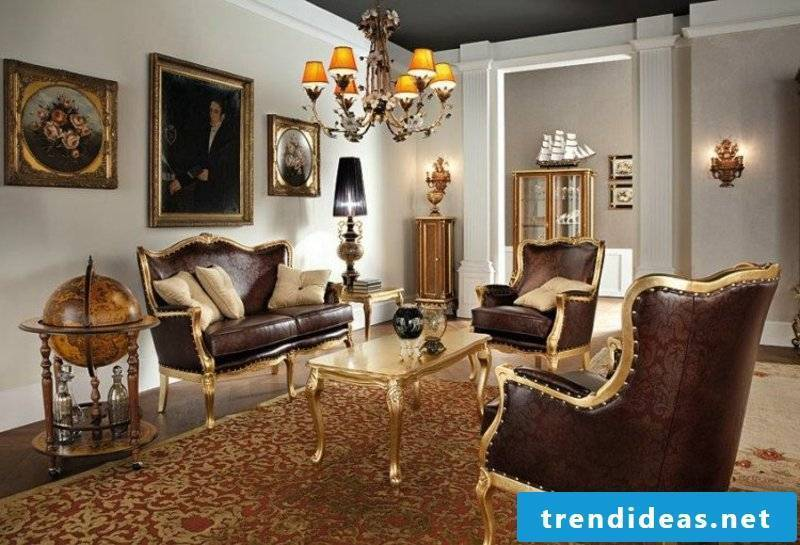 Baroque furniture for a noble look