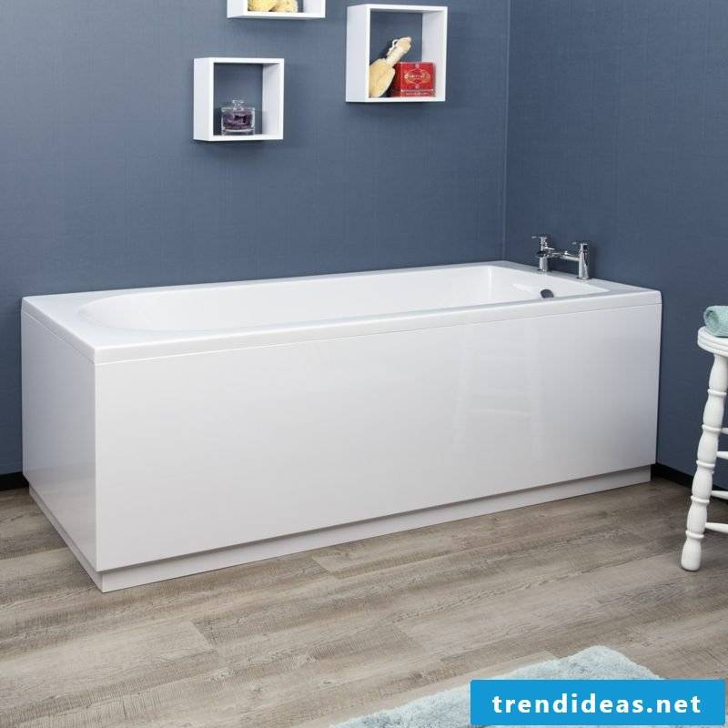 bathtub cover white