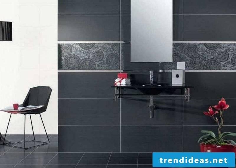 Tile sticker for bath elegant