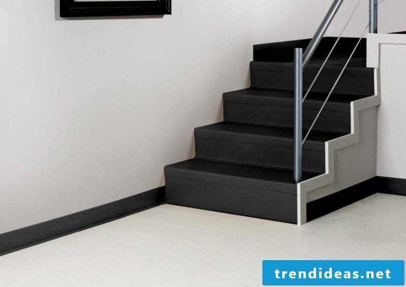 Concrete staircase design