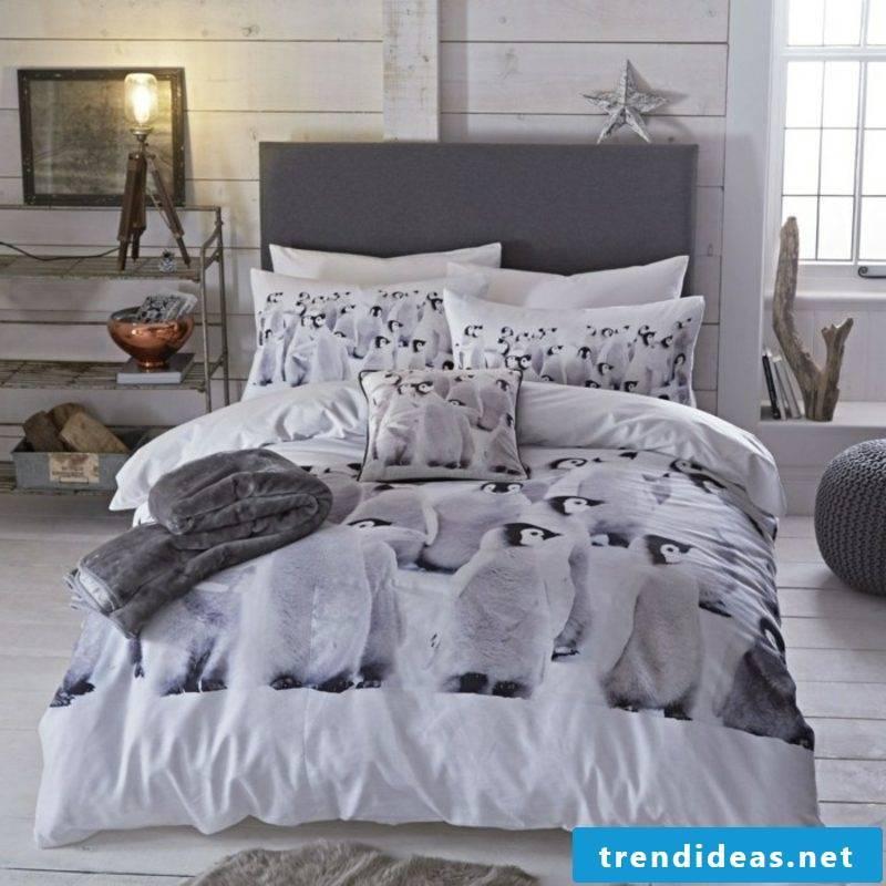 original bedding for Christmas penguins