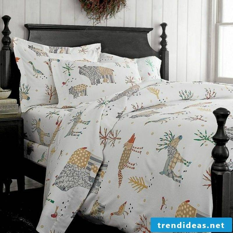 Bedding for Christmas cotton simple design