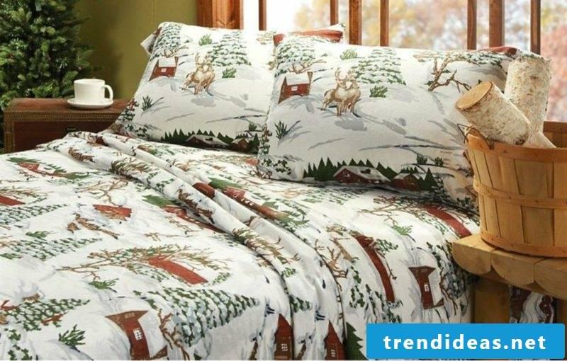 Bedding for Christmas gorgeous design