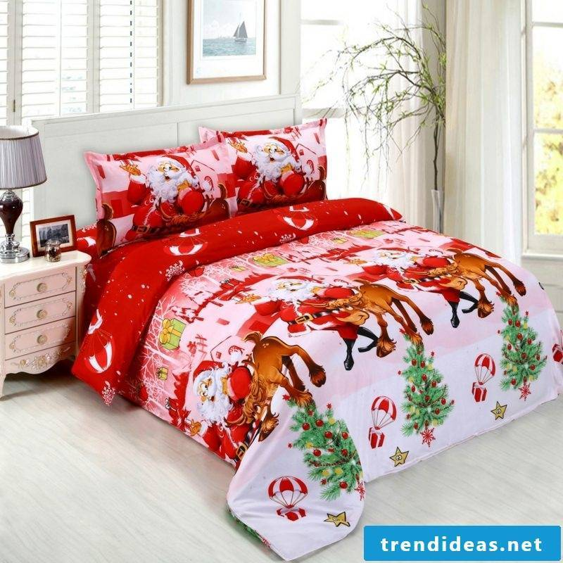 warm bedding for Christmas gorgeous look
