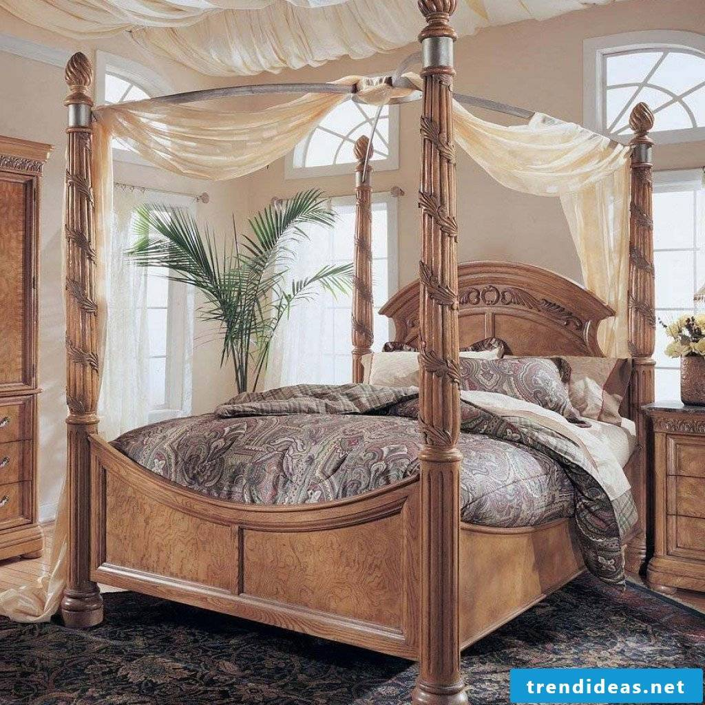 Bed Room Concepts 4 Poster Bedding And 42 Different Solutions