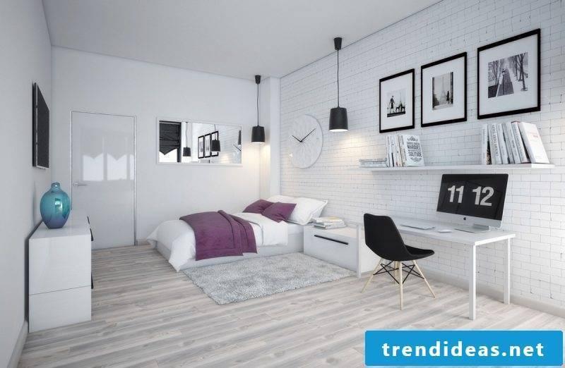 Scandinavian bedroom set up ideas