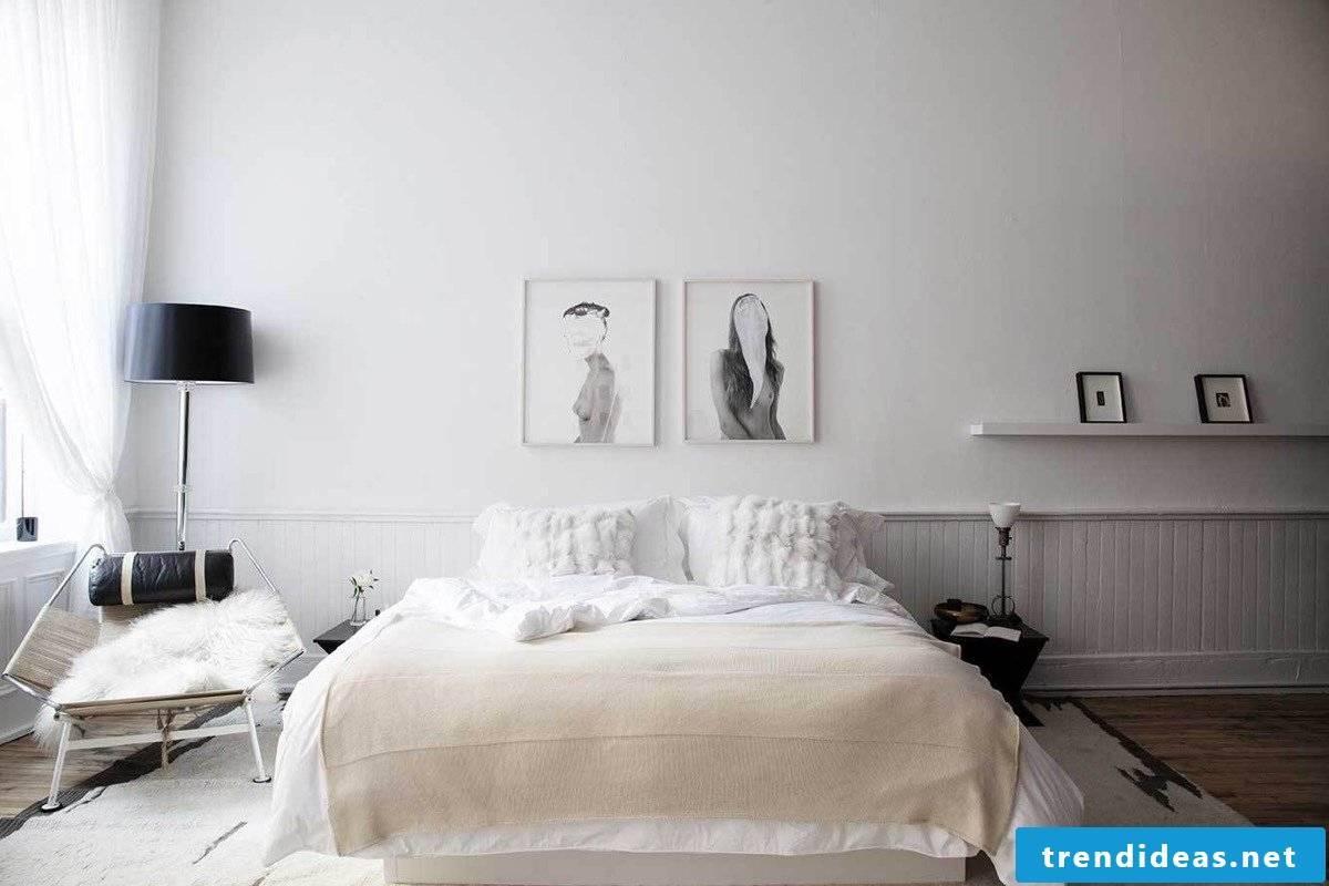 Scandinavian bedroom ideas white bedroom design