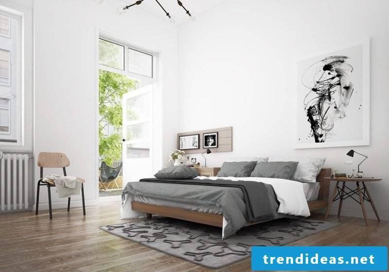 bedroom design home decor Scandinavian furniture bedroom decoration
