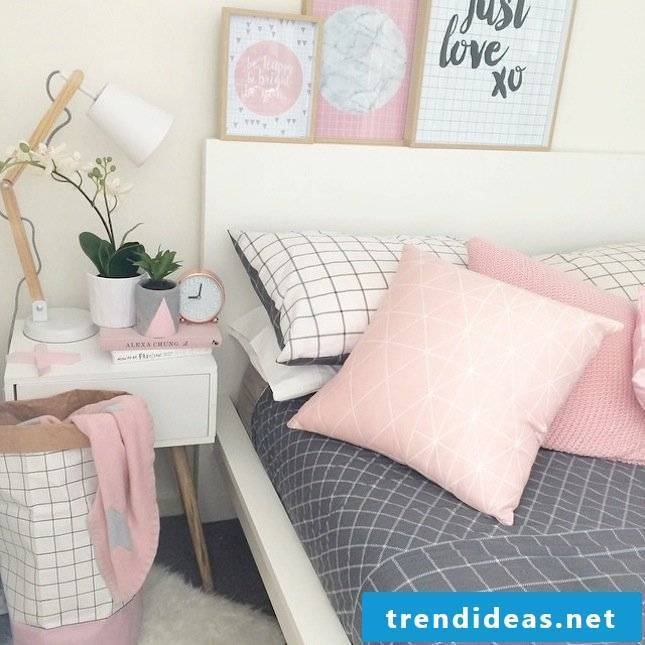 bedroom decorating ideas scandinavian style bright colors