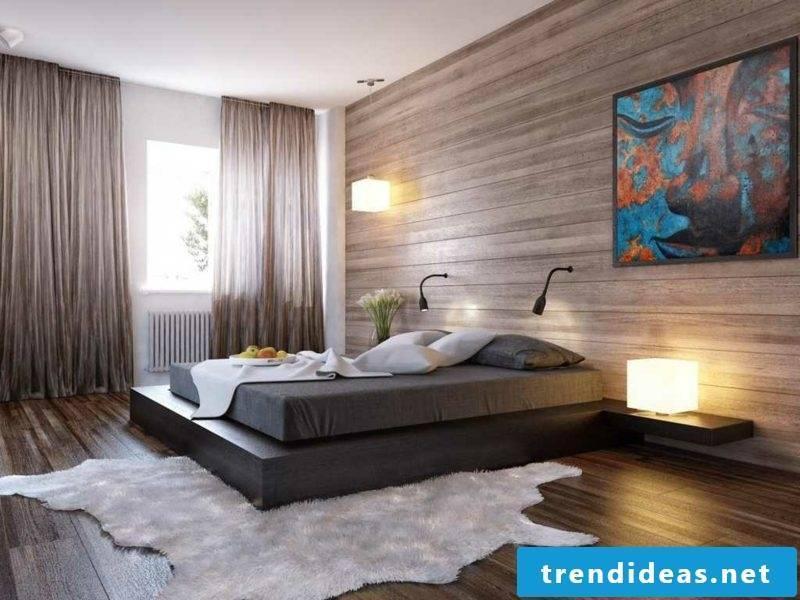 Bedroom set up minimalist style