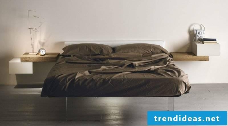 Bedroom set up minimalist