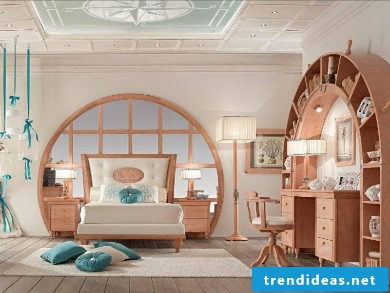 Bedroom set maritime style unique