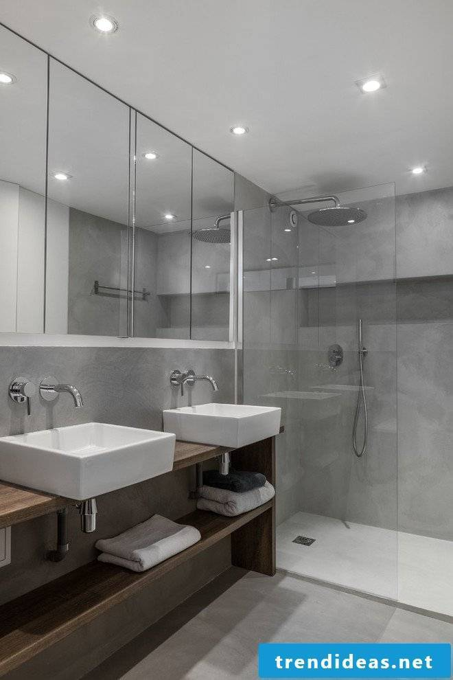 Design a seamless bathroom with Beton Cirè